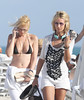 Lady Victoria Hervey on holiday in Miami