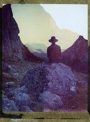 A Silent Morning (Bastiank80) Tags: camera morning autumn mountains color film nature field birds analog start polaroid living moody silent child large free summit instant 4x5 sheet format expired hearing 79 wimbachgries wista
