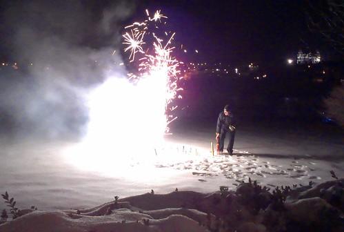 Firework tribute