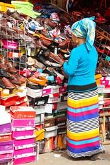 Shoe Market, Khotan, Xinjiang (Sekitar) Tags: china shoe market hotan xinjiang silkroad uyghur khotan seidenstrasse earthasia routedesoie