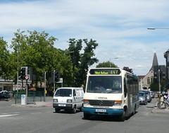Vario 1110 X653 WTN (bobsmithgl100) Tags: bus surrey mercedesbenz alexander wtn 1110 vario westbyfleet route437 alx100 x653wtn arrivaguildfordwestsurrey oldwokingroad x653 parvisroad