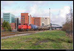 DBS 6413 - 62330 (Spoorpunt.nl) Tags: 2 groningen trein januari dbs onnen ketel roodeschool 6413 2013 noordwillemskanaal paterswoldseweg wagens 62330 aardgascondensaat wascoda