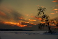 winter sunset (mack99301) Tags: sunset fb thecottage lakewisconsin lakewisconsinwisconsin