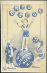 Ball Blue [front] (Boston Public Library) Tags: people laundry advertisingcards