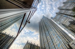 The blue sky reflects in PPG Place in Pittsburgh HDR (Dave DiCello) Tags: beautiful skyline photoshop nikon pittsburgh tripod usxtower christmastree mtwashington northshore northside bluehour nikkor hdr highdynamicrange pncpark thepoint pittsburghpirates cs4 d600 ftpittbridge steelcity photomatix beautifulcities yinzer cityofbridges tonemapped theburgh clementebridge smithfieldstbridge pittsburgher colorefex cs5 ussteelbuilding beautifulskyline d700 thecityofbridges pittsburghphotography davedicello pittsburghcityofbridges steelscapes beautifulcitiesatnight hdrexposed picturesofpittsburgh cityofbridgesphotography