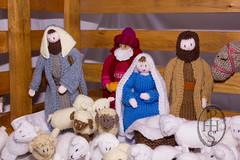 Knitivity or Knitted Nativity at St John The Baptist Church Dodworth (109) (PHH Sykes) Tags: church saint st john baptist knitted figures nativity the dodworth knitivity
