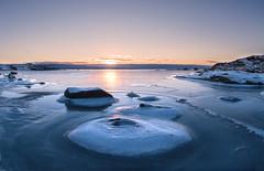 Sr Nature Reserve (Ian Fletcher 99) Tags: winter sunset sea snow ice sweden