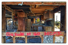 Go Nude or Go Home - Salton Sea Beach, CA (gastwa) Tags: california sea abandoned nature landscape graffiti nikon focus ruins scenery angle wide shift wideangle andrew palm full pollution springs frame 24mm manual fullframe fx tilt sensor d800 salton f35 tiltshift pce gastwirth d800e andrewgastwirth