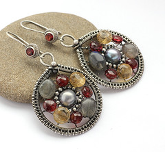 earrings (vesna-m) Tags: silver earrings
