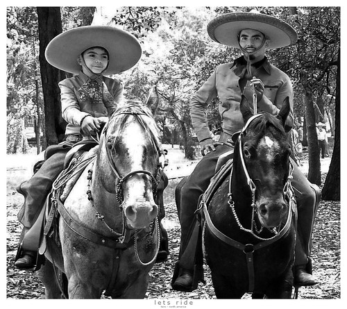 horse mexico mexicocity ride brothers photoshopped together rider chapultepec letsride sombrerohat reneschlegel