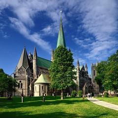 Nidarosdomen (aha42 | tehaha) Tags: norway norge noreg church katedral chathedral 500x500 square squarecrop