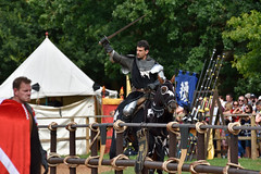Armoured Knight (Bri_J) Tags: warwickcastle warwickshire uk warwick castle nikon d7200 armour knight tournament horse
