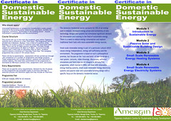 Amergin project - Flyer - Domestic Sustainable Energy (front) (I-Man--10N) Tags: environment ireland celtic irish iconography tipperary
