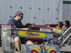 D7K_8578_ep (Eric.Parker) Tags: cne 2016 canadiannationalexhibition fair fairgrounds rides ferris merrygoround carousel toronto fairground midway6 midway funfair scrambler