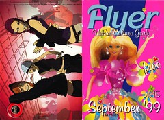Flyer: Urban Culture Guide (Mary Hawkins) Tags: flyer clubkid summer barbie magazine nightlife september 1999