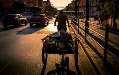 Range Rover (Rob-Shanghai) Tags: shanghai tricycle china bike sunset hardlife leicaq leica street