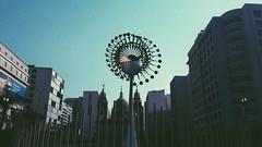 Boulevard Olmpico (Mayu O'Shea 2) Tags: riodejaneiro boulevardolimpico praamaua brasil brazil building olympic rio2016 sunset silhouette sun shadow sky sundown street sol samsung sunshine vintage vsco vscocam nuvem fire tochaolimpica dark daily town city urban analogue analog analogic awesome amazing winter