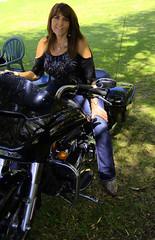 She Rides (swong95765) Tags: woman female rider bike motorcycle motorbike machine power beauty