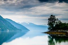 Calm (Heli-Hansen) Tags: nature sognogfjordane reflections ocean fjords mountain norge norway longexposure leefilters softgrad littlestopper