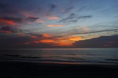 CLOUDS AT DAWN (R. D. SMITH) Tags: dawn clouds ocean sunrise florida sky atlanticocean morning canoneos7d