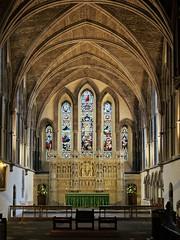 Brecon, Powys (Oxfordshire Churches) Tags: brecon aberhonddu powys wales cymru panasonic lumixgh3 uk unitedkingdom johnward churches anglican churchinwales cathedrals stainedglass reredoses listedbuildings gradeilisted
