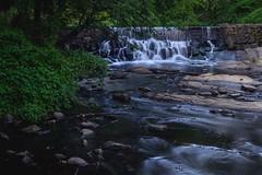 Listen to the falls (Lojones13) Tags: relaxing atmosphere serene scarsdalefalls newyork bronxriver river water rocks