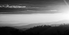 valley of thoughts (keith midson) Tags: sunset hills landscape sun haze valley tasmania midlandhighway