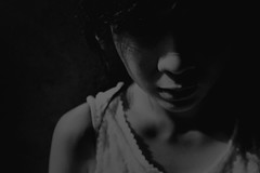leaving (moonowl7397) Tags: nikon fm3a 400vc film analog girl ruin 201608 ps