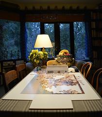 1000 (graeme37) Tags: jigsawpuzzle houseinterior evening