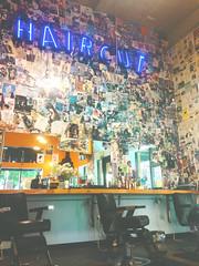 Haircut (e_nations) Tags: bishops haircut hairsalon barbershop portland portlandor downtownportland magazineclippings hair