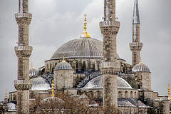 The Blue Mosque, Istanbul (micebook) Tags: turkey istanbul city capital culture centre town buildings architecture sky birds landmarks