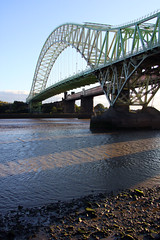 Northern England #0084 Widnes 140911 Runcorn-Widnes Bridge (Steveox55) Tags: road bridge merseyside widnes rivermersey
