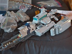 SHIP WIP (day 5 or 6) (W. Navarre) Tags: lego shiptember