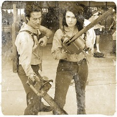 Ashes. Two Ashes. (Kelson) Tags: cosplay longbeachcomiccon lbcc2016 comic con ash evildead chainsaw processed