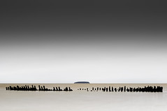 Wreck & Steep Holm (P Makin) Tags: wreck nornen steep holm long exposure berrow