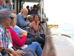 3946 The starboard side crowd (Andy panomaniacanonymous) Tags: 20160907 cruise ddd deck mvbalmoral passengers ppp roundtrip ship sss starboard ynysmon