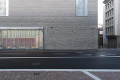kunst museum new building - basel (al_st) Tags: kunstmuseum kunstmuseumnewbuilding architecture abstract minimal exhibition bricks light street building texture christgantenbein basel