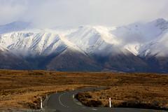 The Road to Lake Ohau (whitebear100) Tags: lakeohau mackenziecountry landscape southisland nz newzealand