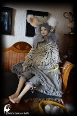 Suzette gray Rabbit-girl, Boudoir Victorian Art Doll (Professional Art Doll Maker) Tags: artdolls art arttoy collectibles collectiblesdolls dolls dollsstory ooakdolls gothic gothicdoll gothicforest goth gothicart gothicgifts boudoirdoll rabbitdoll rabbit victoriandoll handmadedoll leatherbody victoriangothic fantasydollszlata fantasydolls zlatasfantasydolls polymerclaydoll interiordolls worldofdollsanthrogon
