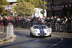GT40 on the bend (BarryKelly) Tags: gt40 ford gt bend dunboune motor club