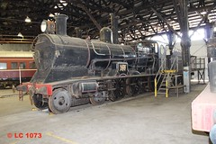 3203 (LC1073) Tags: locomotive roundhouse c32 steamlocomotive steamloco broadmeadow 3203 beyerpeacock pclass nswgr 32class broadmeadowloco broadmeadowroundhouse rpaunsw32class3203 transportheritagensw thnsw transportheritagenewsouthwales