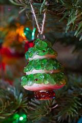 Homemade seaglass Christmas tree (sosidesc) Tags: christmas turtle ornaments seaturtle christmas2012