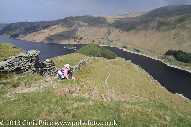 Haweswater from Long Stile