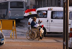 Alexandria, private demonstration (blauepics) Tags: road street sea people man alexandria private coast war meer mediterranean leute flag strasse wheelchair protest egypt demonstration egyptian disabled mann veteran flagge gypten kste rollstuhl privat mittelmeer gyptisch gypter behinderter kriegsveteran