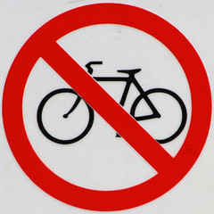 No bicycles (Leo Reynolds) Tags: bike bicycle sign canon eos cycling 300mm cycle 7d squaredcircle f80 signsafety iso640 signno 0003sec hpexif signnosmoking signcirclebar xleol30x sqset088