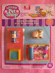 Sleek Siamese with Scratching Post - My Real Pets (Suki Melody) Tags: new pet pets cute animal shop set cat vintage real toys milk kitten play with post box tail mint kitty fluffy siamese litter collection plastic yarn card kawaii shops trophy kenner 1994 brand package sleek 90s complete scratching sealed littlest 1194