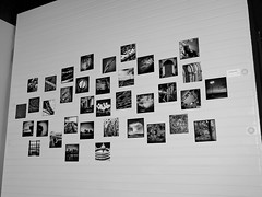 Instagram Assortment (tim.perdue) Tags: show city ohio bw white black art monochrome wall by photography photo tim gallery angle center frame opening delaware seen perdue instagram