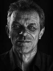 My Dad (AdrianMalec) Tags: portrait bw f14 85mm d90 samyang nikond90