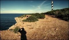 MOSCARTER (Pepe Rosell) Tags: sea sky panorama lighthouse selfportrait seascape canon faro mar mediterranean mediterraneo autoretrato ibiza eivissa treatment waterscape mediterranee lichturm calaportinatx fardesmoscarter