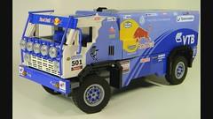 Kamaz Video (LegoMarat) Tags: lego rally 4wd technic dakar raid rc kamaz камаз powerfunctions